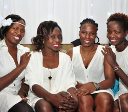 END OF YEAR ALL WHITE MUMS PARTY (DEC 2016)