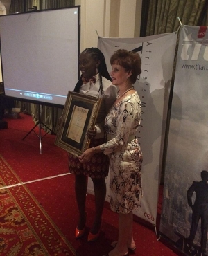 Supamamas founder awarded country winner SME category at CEOs' magazine most influential women awards 2015